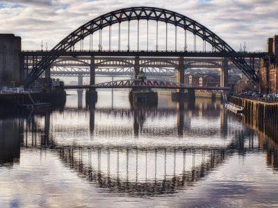 Tyne Bridge and Reflection