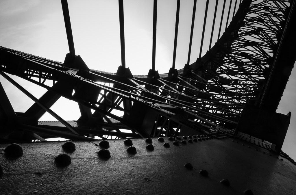 Tyne Bridge from down under