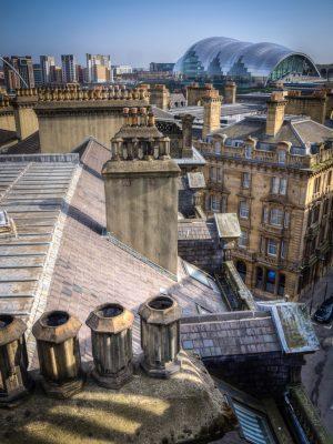 View from the Tyne Bridge