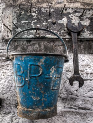 The Blue Bucket