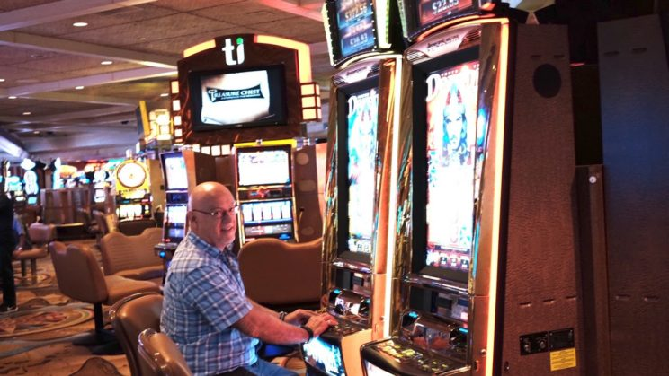 Peter in the casino