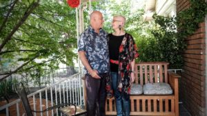 Peter and Gerda grow old together