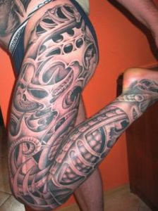 bruise-leg sleeve