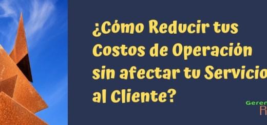 Reducción Costos de Operación