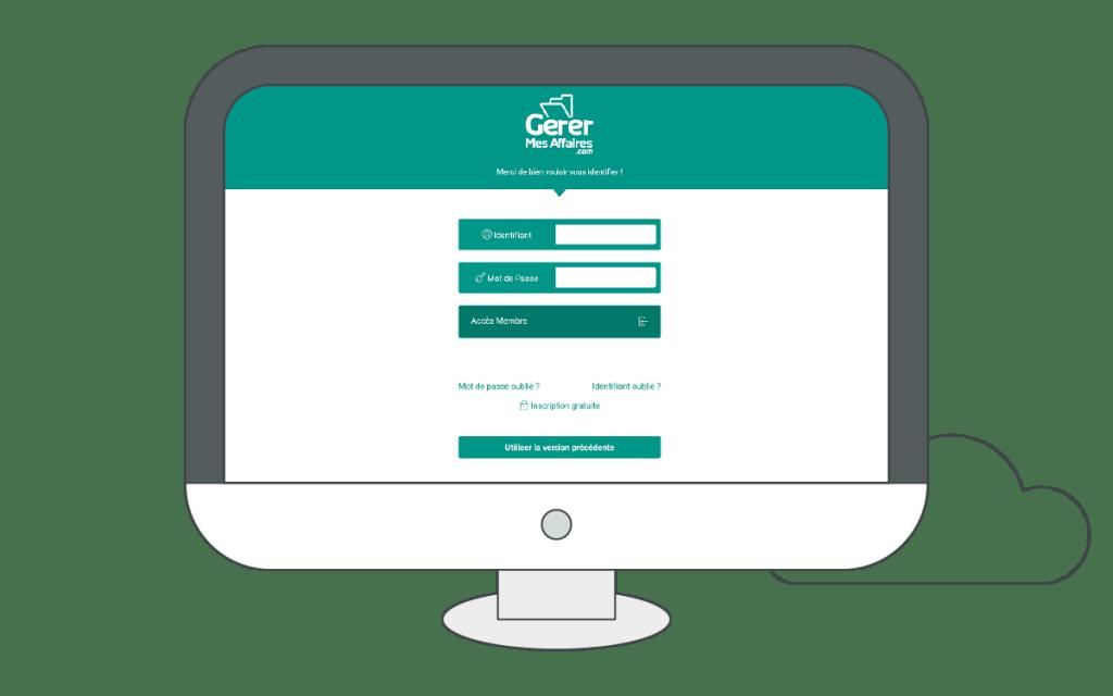 écran de connexion coffre-fort numérique entreprise