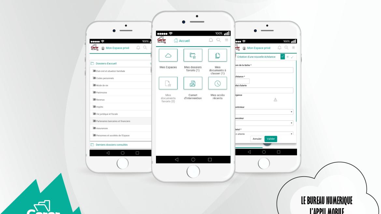 GMA Membre, l'application mobile du bureau numérique
