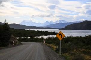 Anfahrt in den Torres del Paine NP