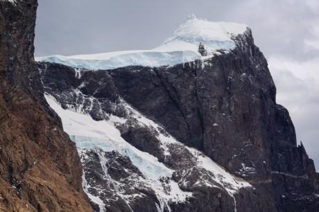 Hängegletscher am Paine Grande