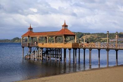 Seebrücke Patagonian Style