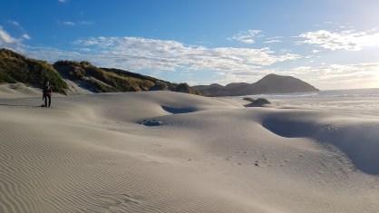 Der Wharariki Beach...