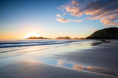 Sonnenaufgang am Ocean Beach
