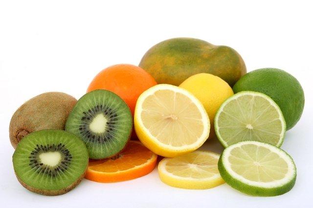 AHA citron agrume naturel acide peau exfoliant
