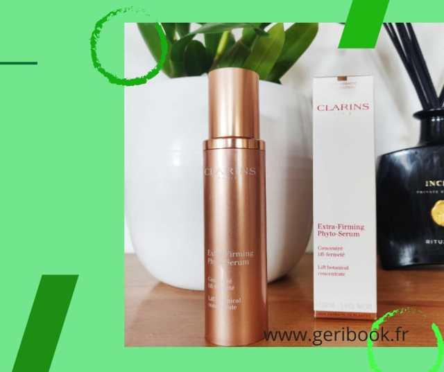 xtra-Firming Phyto-Serum: Un double effet lift immédiat visible jour après jour pour une peau visiblement plus jeune, raffermie et des contours redessinés.