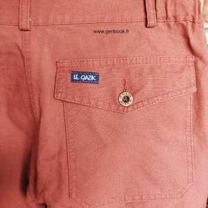 Mon Pantalon homme en coton biologique Le Glazik