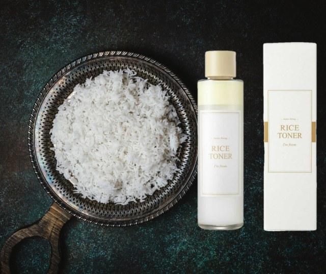 essence à base de riz de la marque coréenne I'm From, le Rice Toner : une lotion à base de riz connue ne k-beauty