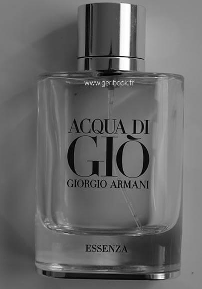 acqua di gio essenza perfume armani hombre