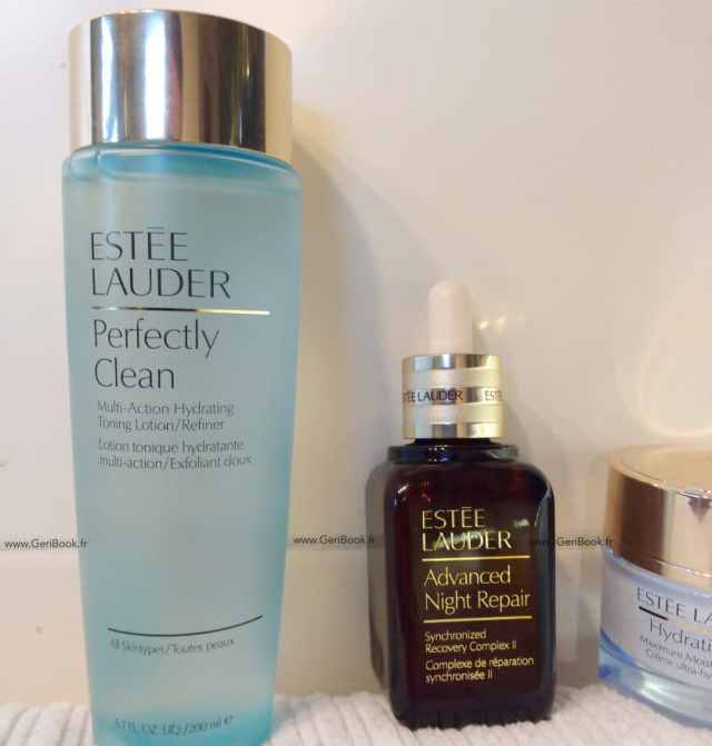 review lotion estee lauder perfectly clean