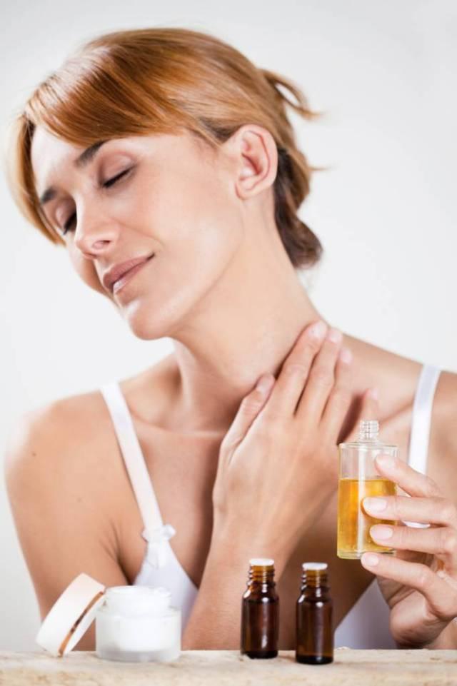 Hydratation à l'huile de monoï
