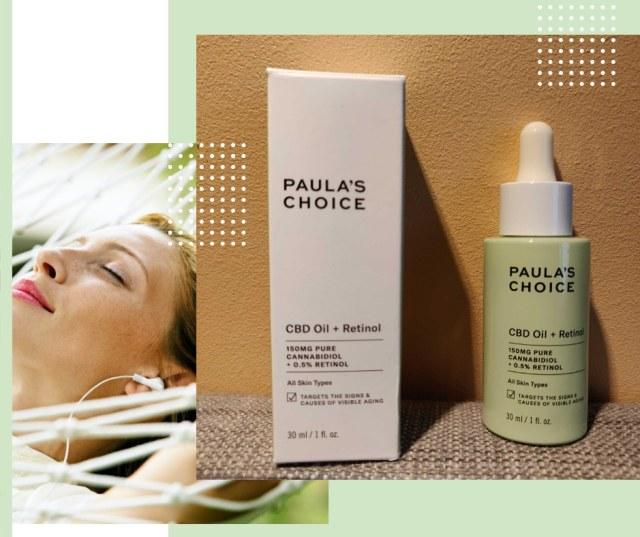 lutter contre les causes et les effets du vieillissement cutané, l'huile de CBD + rétinol PAULA'S CHOICE
