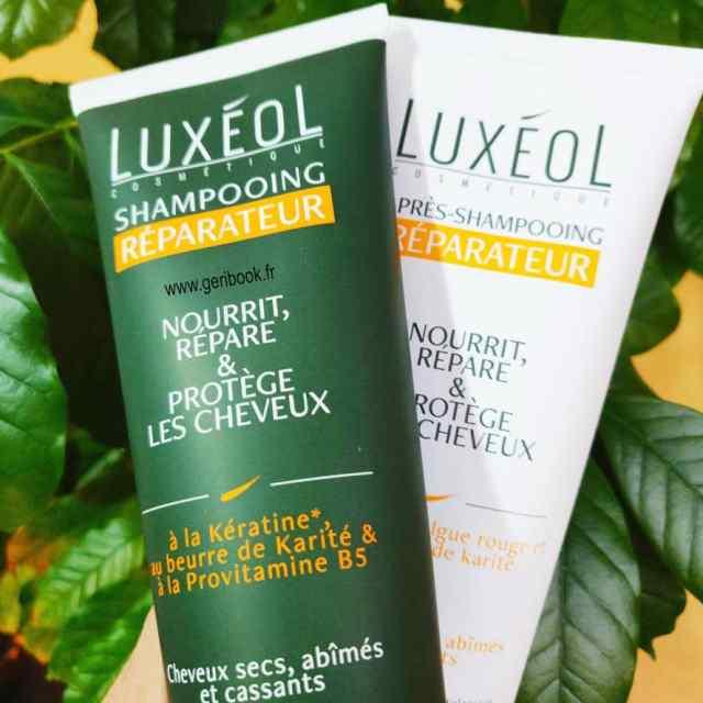 shampoing cheveux secs cassants luxeol