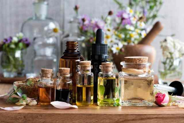 huiles et eaux florales