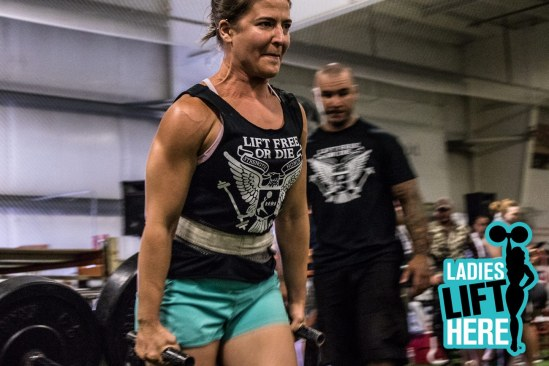 Lift Free or Die Strongwoman Competition 2016