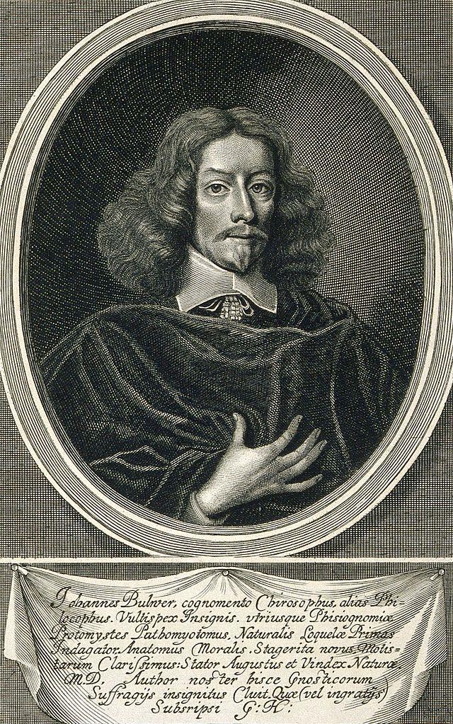 John Bulwer, Courtesy of Wikipedia