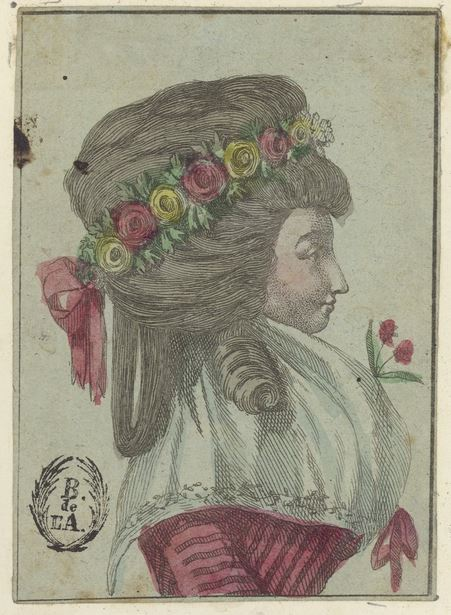 Georgian headdresses - eighteenth century coiffure