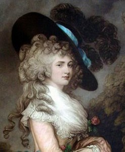 Duchess of Devonshire in the Gainsborough Hat, Courtesy of Wikipedia