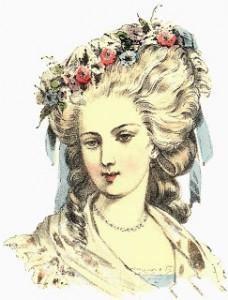 Georgian headdresses, Lambelle Headdress, Author's Collection
