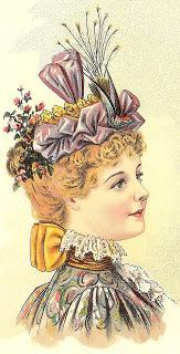 Ladies' Spring Toque, Author's Collection