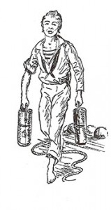 Powder Monkey, Public Domain