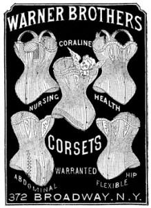 Corsets from the late 1800s, Author's Collection