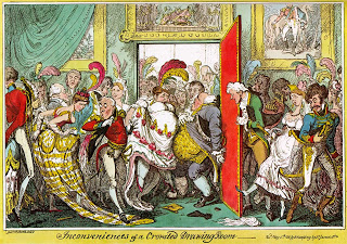 Inconveniences of a Crowded Drawing Room, Courtesy of Wikipedia