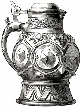 Pokal designed by M. Neureuthe and Intended to Hold Barvarian Beer, Author's Collection