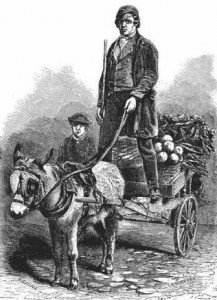 The London Costermonger, Public Domain