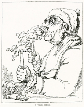 Slang - A Toad Eater Illustrated by Joseph Grego, Author's Collection