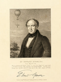 Mr. Edward Spencer, the man who accompanied Mr. Robert Cocking in his fatal experiment of 1837, Courtesy of Library of Congress