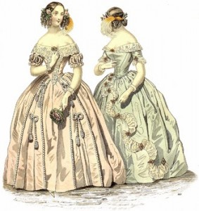 Ball Dresses of 1841, Author's Collection