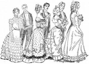 Dancing a Promenade, Public Domain