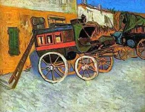 Tarascon diligence coach by Vincent Van Gogh, Courtesy of Wikipedia