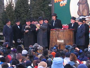 Groundhog Day Ceremonies 2005, Courtesy of Wikipedia