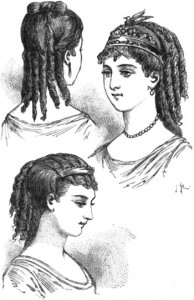 Parisian Hairstyles of 1870, Author's Collection
