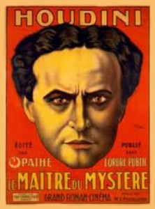 Houdini Poster, Author's Collection