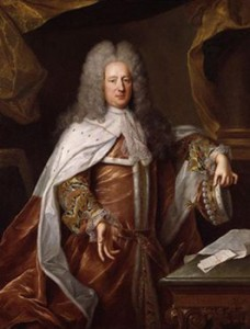 Lord Bolingbroke in a Full Dress Wig, Courtesy of Wikipedia