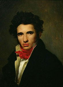 Léon Cogniet in a Red Cravat in 1818, Courtesy of Wikipedia
