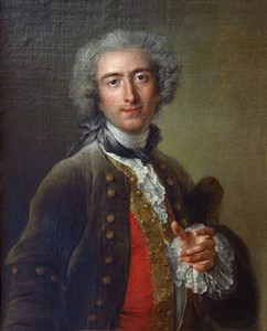 Philippe Coypel in a Bag Wig in 1732, Courtesy of Wikipedia