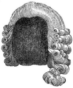 Tie-wig, Bob-wig, and Bag-Wig of the 1700s