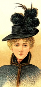 Ladies Large Hat, Author's Collection