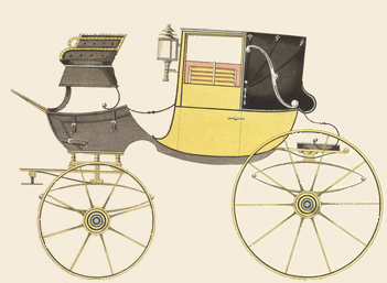 Landaulette From 1816, Courtesy of Wikipedia